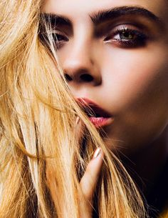 The Cara D. for DKNY Campaign Shots Are Here…and They're GORGEOUS