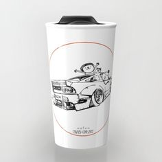 Crazy Car Art 0007 - $24 Weird Cars, Car Illustration, Kustom Kulture, Old School, Mugs, Drawings, Tableware, Artwork, Pray