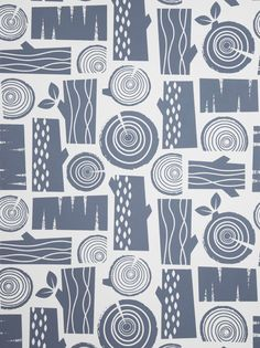 Roddy and ginger. Such beautiful graphic prints and always the right colour