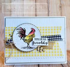 Stampin' Up! Home to Roost Home To Roost, Friendship Cards, Friend Friendship, Bird Cards, Birthday Cards For Men, Stamping Up Cards, Marianne Design, Cards For Friends, Friend Cards