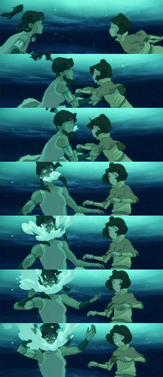 Korra's reaction to the approaching spirit its like the foming mouth guy but under water and its korra Korra Avatar, Team Avatar, Satire, The Last Avatar, Avatar Funny, Avatar World, Water Tribe, Avatar Series, Korrasami