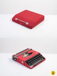 The legendary and rare ultra-slim Gossen Tippa typewriter!