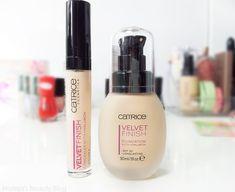 Catrice Velvet Finish Foundation and Concealer // Mateja's Beauty Blog
