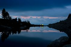 awesome dusk in the mountains of Schladming Dusk, Mountains, Beautiful, Awesome, Nature, Summer, Travel, Image, Naturaleza