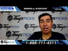Memphis Tigers vs. Western Kentucky Hilltoppers Free NCAA Football Picks...