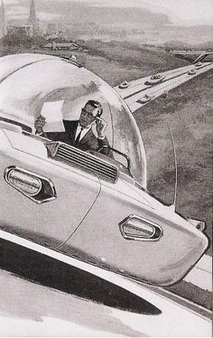 Compilation of Vintage Flying Car Concepts. Also here is a Part 2 of the compilation and if wanna learn more about flying cars - check out an interesting article here.