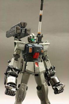 GUNDAM GUY: MG 1/100 GM Ground Type - Customized Build