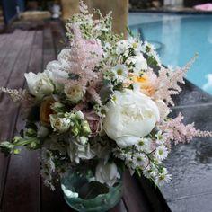 Vintage wedding bouquet - elyssiumblooms