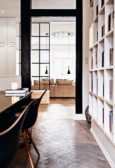 INSPIRATIONS | BLACK & WHITE INTERIORS