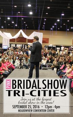Find every #weddingplanning resource you need at our Tri-Cities Pink Bridal Show®, the largest show in the area! Get your tickets today. ♡♡♡