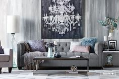 Shop This Living Room - Urban Barn Condo Living, Home And Living, Living Room Decor, Living Rooms, Home Interior Design, Interior Decorating, Decorating Ideas, Decor Ideas, Urban Barn