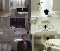 Bateman or Allen's apartment from American Psycho: Scene Stealers