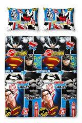 BATMAN ~ 'Batman vs Superman' Double/Queen Bed Reversible Quilt Set