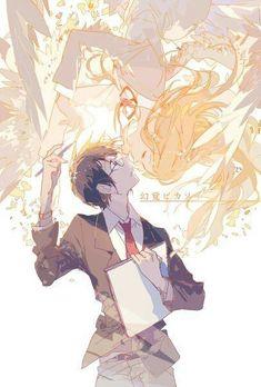 Shigatsu wa kimi no uso, Your Lie in April, Kousei, Kaori <<< This anime made me lose it Anime Love, Me Me Me Anime, Anime Guys, Your Lie In April, Manga Anime, Manga Art, Anime Comics, Miyazono Kaori, Tamako Love Story