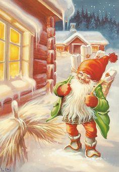 Scandi Christmas, Christmas Deco, Christmas Time, Christmas Cards, Xmas, Sankta Lucia, Old Toys, The Elf, Gnomes