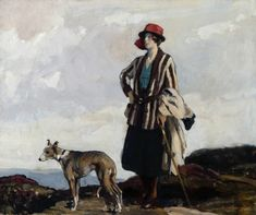 "Richard Jack, ""On the Moors,"" 1921.  Copyright Royal Academy of Arts."