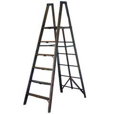 Wooden folding General Store Ladder
