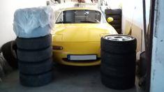New tyres for the Miata Night Knight, Piston Ring, Mazda Miata, Oil Change, New Tyres, Mk1, Yokohama, Knights, Knight