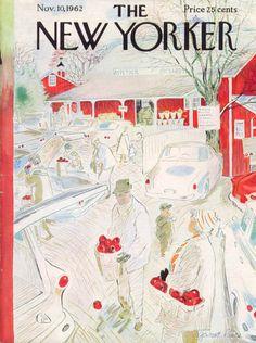 The New Yorker Cover ~ November 10, 1962