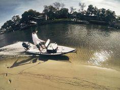 Pelican Ambush not a wood boat but its cool