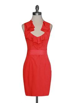 Coral Crush Dress