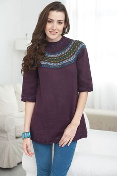 Caron International | Free Project | Icelandic Update Sweater. Possibly.