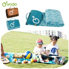 Picnic Blanket Good Choice for Thanksgiving Day.  Find More Camping Mat Information about Yodo Waterproof Camping Picnic Mat Moistureproof Portable Pad Thickening Beach Mat Picnic Blanket Outdoor Cushions 175X135cm,High Quality blanket black,China blanket sofa Suppliers, Cheap blanket coral from You Do Your Life Store on Aliexpress.com