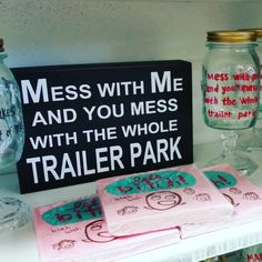 Matching sign & wine glasses! #trailerpark #signs #whippletreecountrystore… Wine Signs, Letter Board, Glasses, Country, Instagram Posts, Eyewear, Rural Area, Eyeglasses, Eye Glasses
