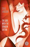 #UWBookMadness The Girl with the Dragon Tattoo by Stieg Larsson   Category: Glass Half Empty   A basic missing person case is at the heart of this 2009 bestseller, the first of a trilogy. While Mikael Blomkvist is the man charged with investigating a 40 year old disappearance, it's Lisbeth Salander, a computer genius with a strong moral standpoint, who really cracks the case.