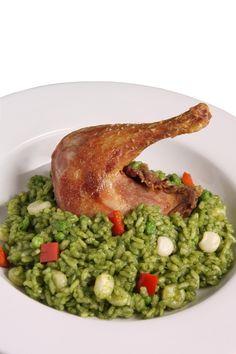 Rice with Duck Peruvian-Style (Arroz con Pato peruano)