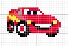 Esquema - Rayo McQueen (cars)