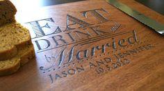 Personalized Cutting Board Custom by TaylorCraftsEngraved on Etsy