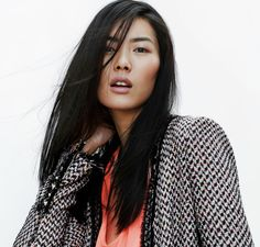 Liu Wen Stars in Zara's April 2012