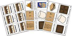 Learning Sentences - {free} Printable Smore Sentence Game