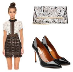 """Birthday Party"" by richclubgirl ❤ liked on Polyvore featuring Jimmy Choo"