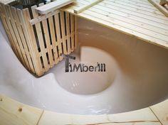 Houtgestookte glasvezel hot tub wellness basic  (37)