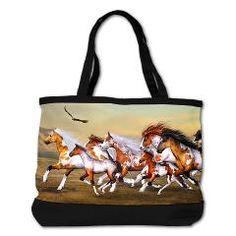 Wild Horses Herd Shoulder Bag