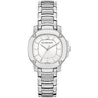 Buy Burberry BBY1703 Women's The Britain Stainless Steel Bracelet Strap Watch, Silver/White £925 from Women's Watches range at #LaBijouxBoutique.co.uk Marketplace. Fast & Secure Delivery from John Lewis online store.