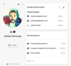 ONE: People API, nueva herramienta de Google para que los desarrolladores accedan a las listas de contactos de los usuarios