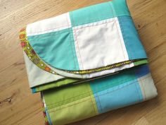 """Sew Take a Hike """"First"""" Quilt with no batting or binding."""