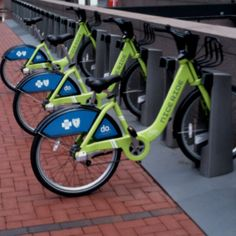 Bike Share in Minneapolis.