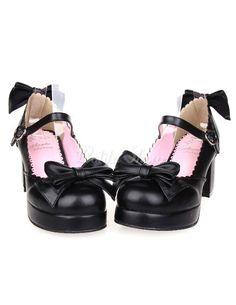 Bows Decor Lolita Shoes - Lolitashow.com
