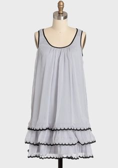 Light As Air Tiered Dress | Modern Vintage New Arrivals - wanting to buy so badly right now!