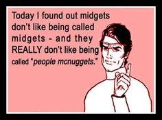 People McNuggets!