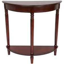Half Round Console Table