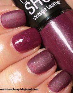 Maybelline Limited Edition Fall 2013 Color Show Vintage Leather Nail Color Collection.