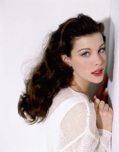 #LivTyler as #LizTaylor or #BettyPage old Hollywood #Glamour
