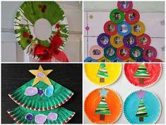São muito fofos esses Artesanatos para Natal com Pratos de Papelão! Faça também e deixe as crianças super felizes com as confecções. Research Projects, Art Projects, Projects To Try, Christmas Art, Xmas, Front Garden Landscape, Paper Flowers, December, Kids Rugs
