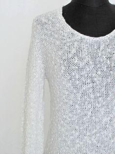 hand knitted shirt handgestricktes Shirt