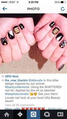 Demi lovato nails